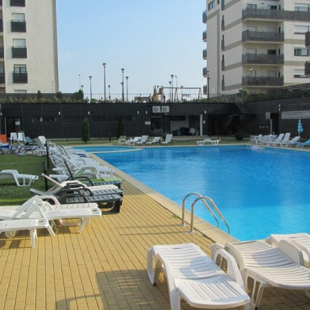 Natura residence piscina