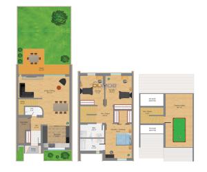 schita vila Catted residence