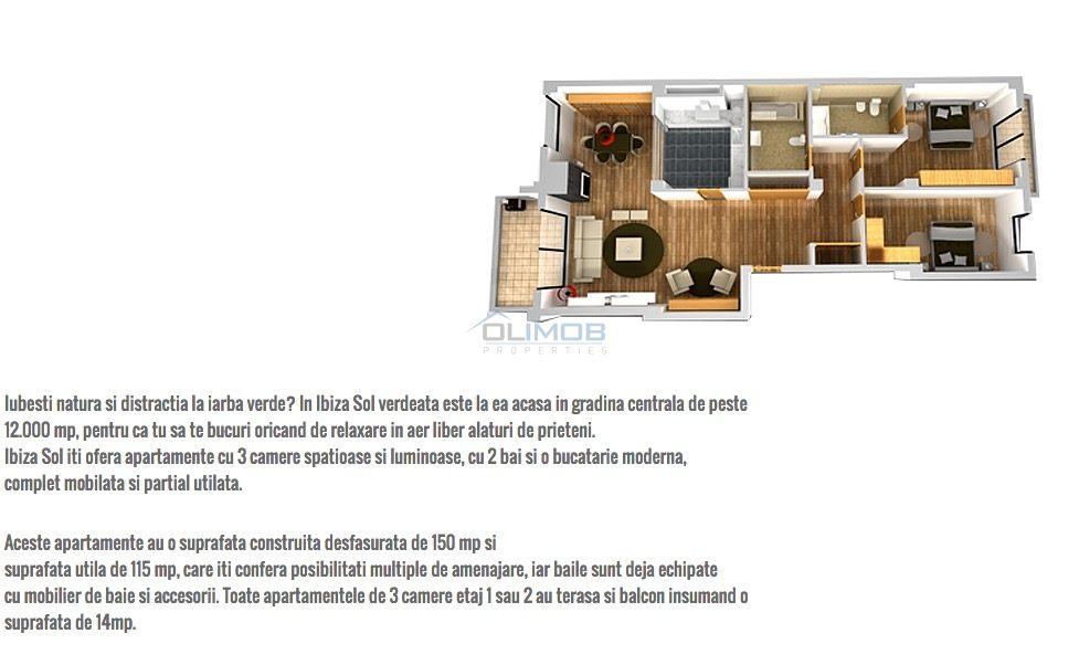 3 camere Ibiza