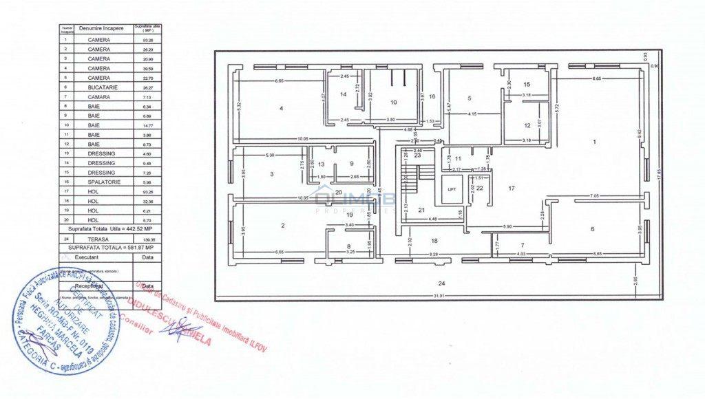 Pipera Apartment inchiriere Penhouse