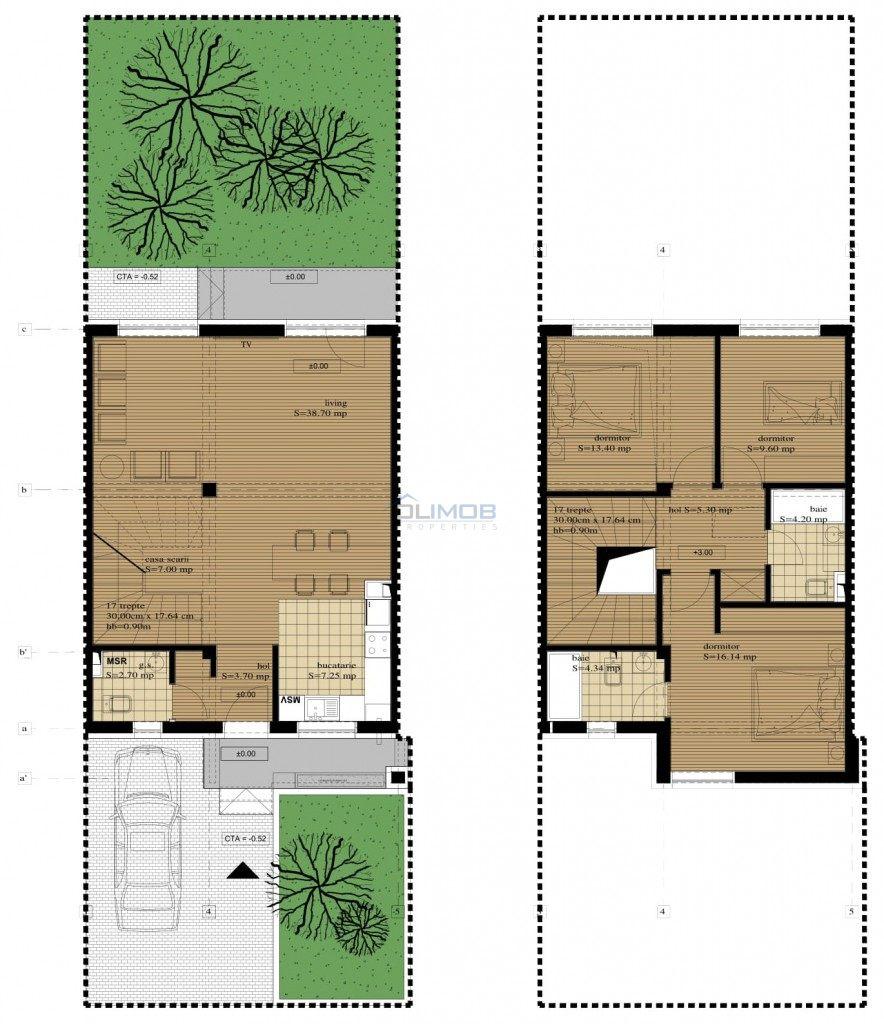 Plan London Residence