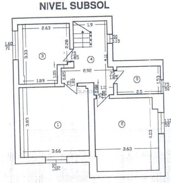 plan subsol