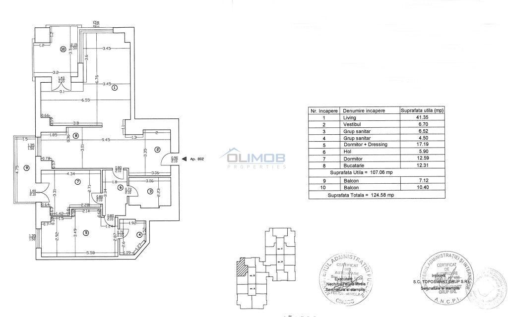 Apartament 3 camere UpGround inchiriere