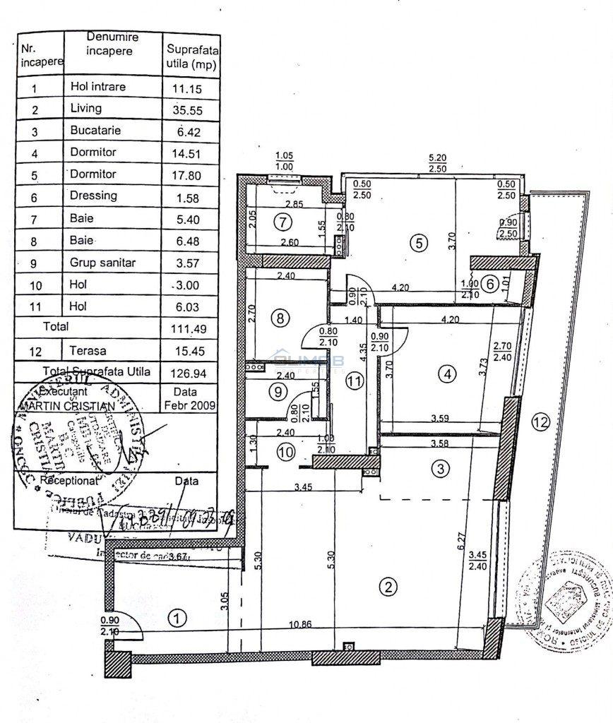 Vanzare 3 camere Lac Tei