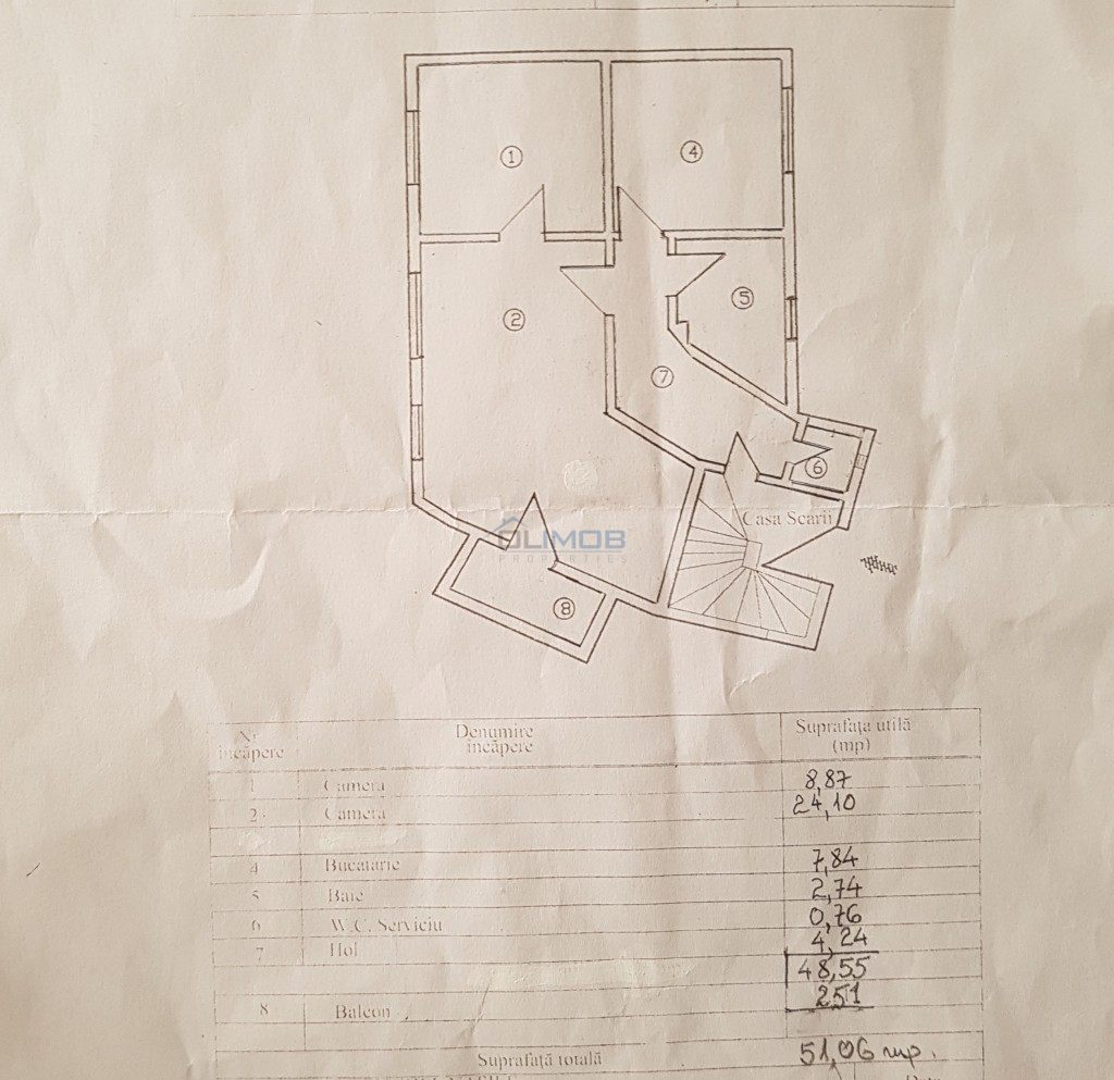 Inchireire apartament 2 camere